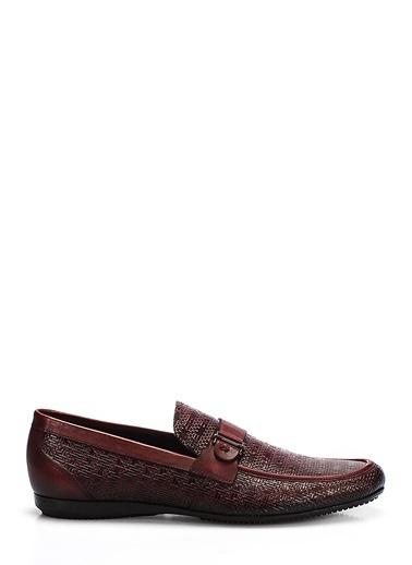 %100 Deri Loafer Ayakkabı-İnci